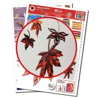 Karen Marie Klip - Quilling Template Maple Leaf,...